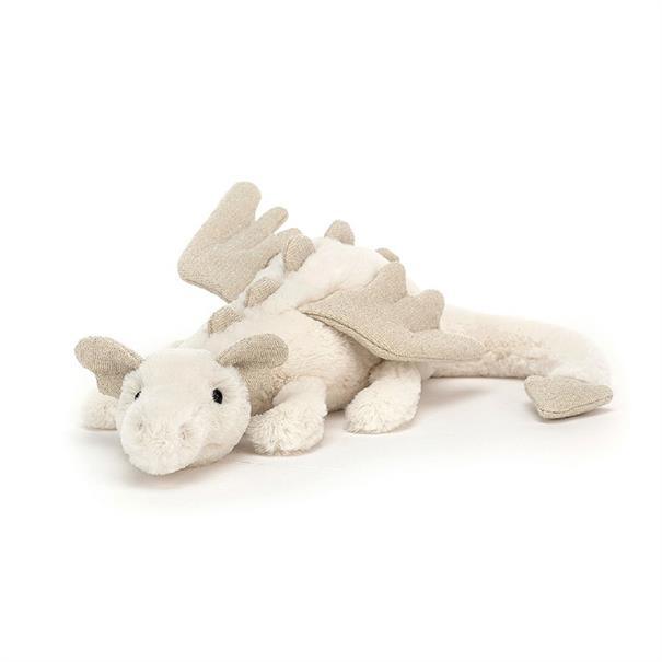JELLYCAT Snow dragon litt