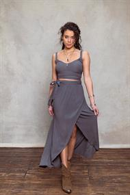 MOOST WANTED Angel wrap skirt