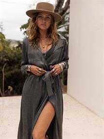 MOOST WANTED Jade satin dress