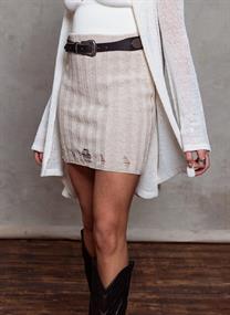 MOOST WANTED Moya damaged skirt