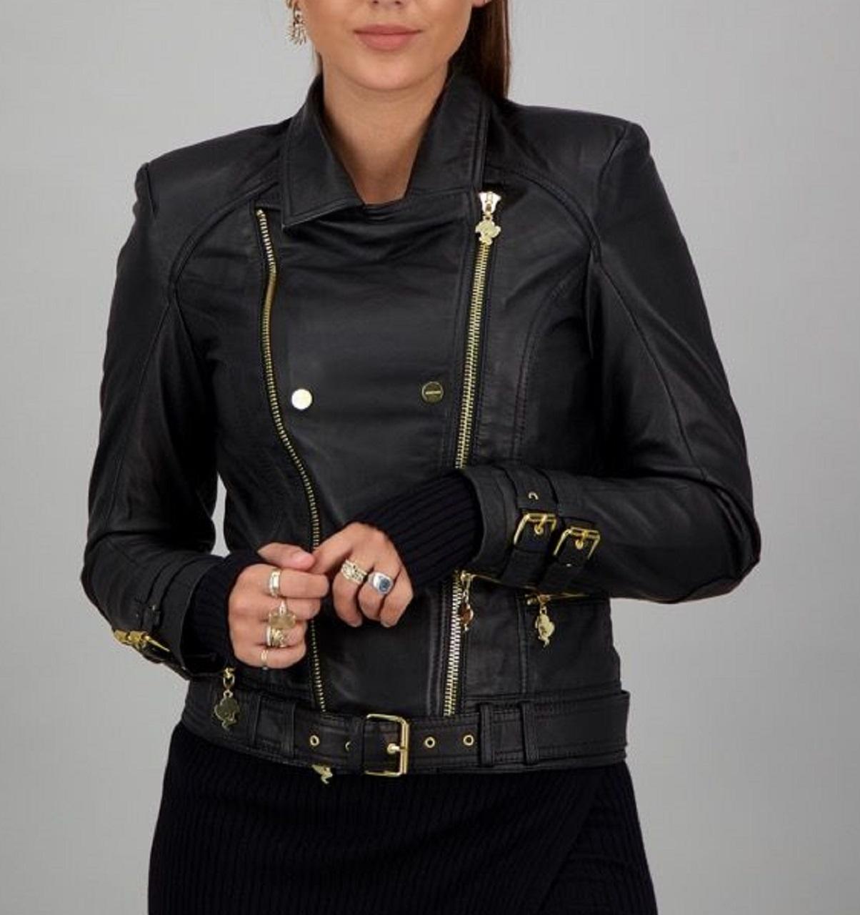REINDERS Leather jacket