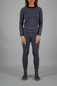 REINDERS Rr print sweater